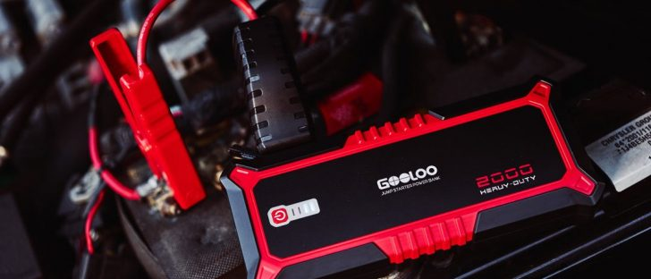 GOOLOO launches ultimate portable jump starter on Indiegogo