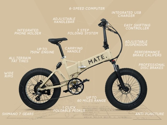 Meet MATE X: The coolest folding e-bike ever
