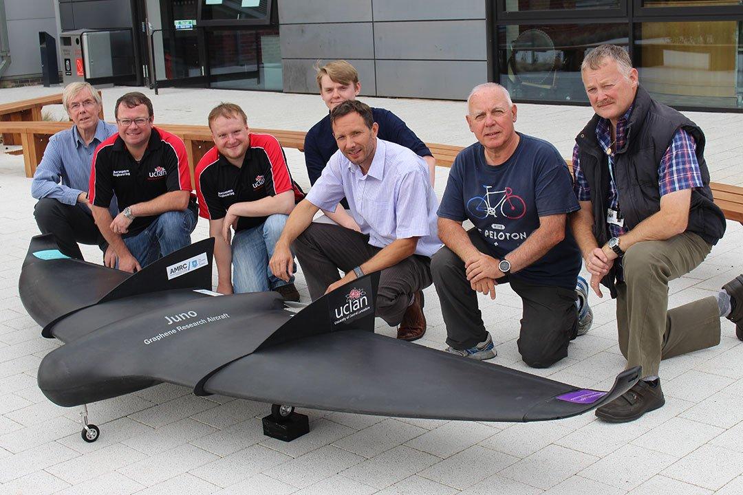first Graphene skinned UAV