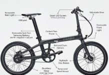 CARBO: The World's Lightest Folding Electric Bike