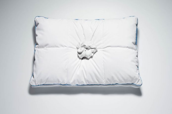 A new pillow utilizing NASA technology to comfort sleep