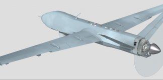 Rendering of UAV powered by LiquidPiston's engine