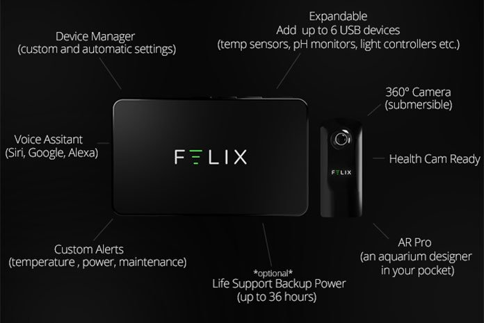 FELIX: Equipped with different technologies