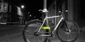 Litelok Silver-Bicycle lock