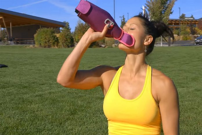 Bend Bottle: The soft, collapsible water bottle