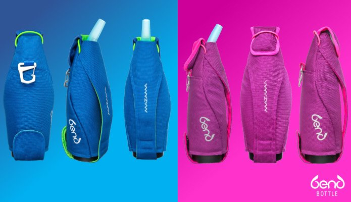 Bend Bottle carrying options