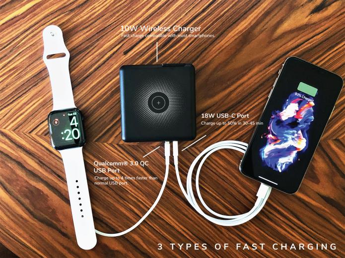 NOVA 3 three types of charging