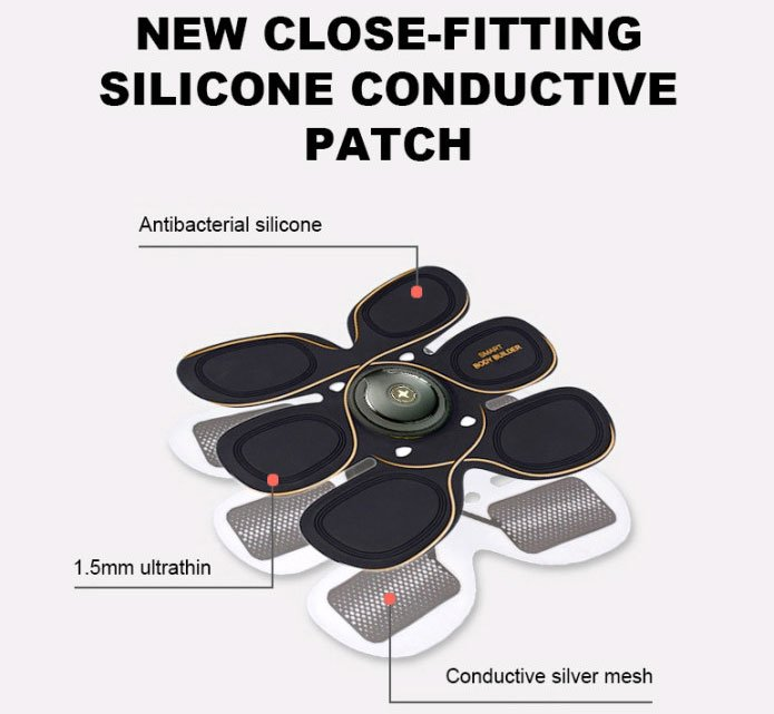 Silicon Conductive Patch
