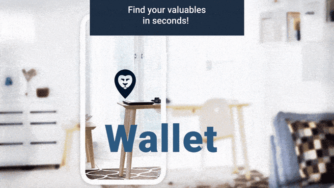 Tracking Wallor tag on wallet