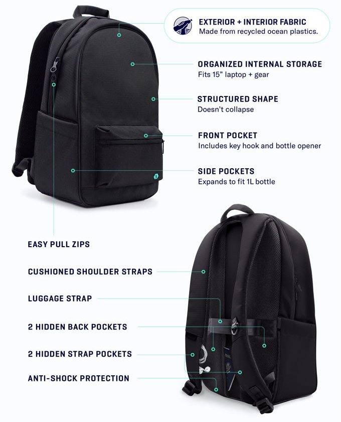 The Daypack design