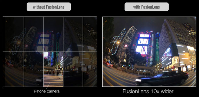 FusionLens Wide Capture