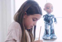 Little Sophia makes STEM, coding and AI a fun