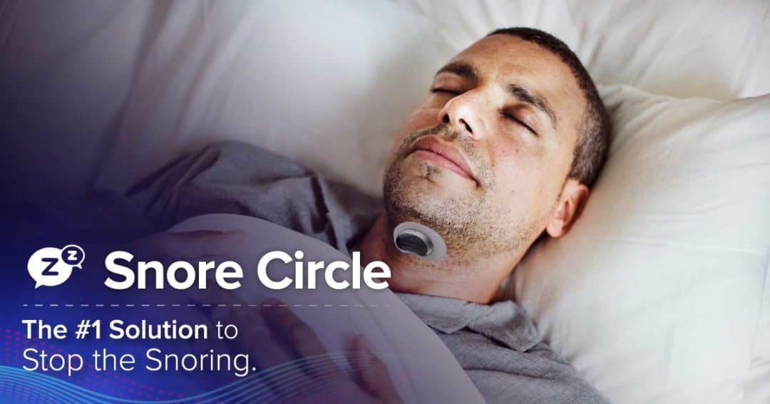 Snore Circe v5: The world's smartest anti-snore solution