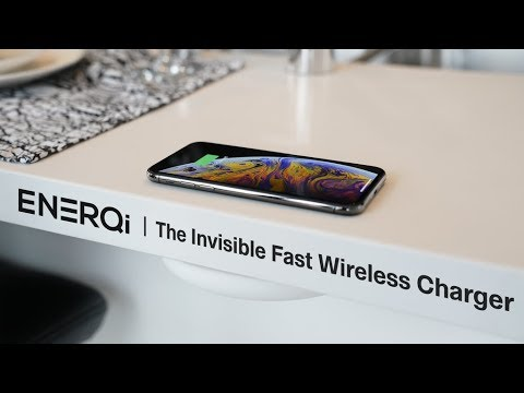 ENERQi: turns the table-top into wireless charger
