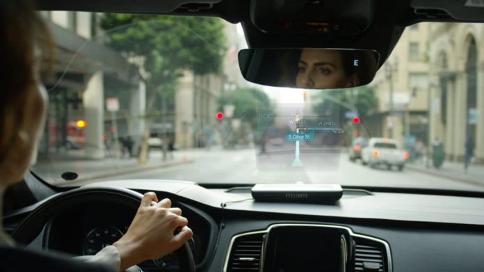 EyeDrive-All New Holographic Car Assistant