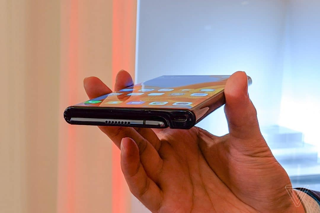 Huawei Mate X: 11mm thick when folded