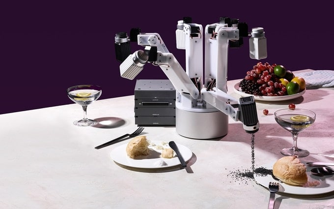 Make a Robot for helping in Kitchen