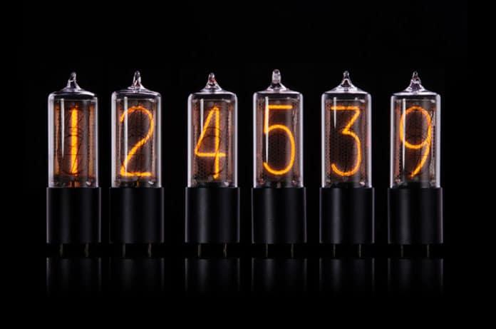 ZIN18- package of 6 Nixie tubes