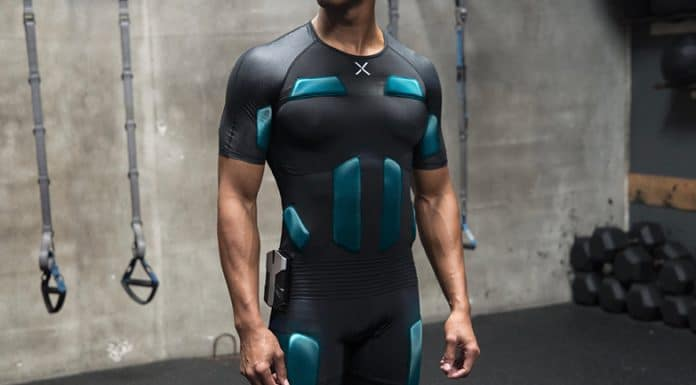 Balanx: whole body EMS training suit