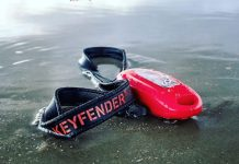 Keyfender: waterproof key case