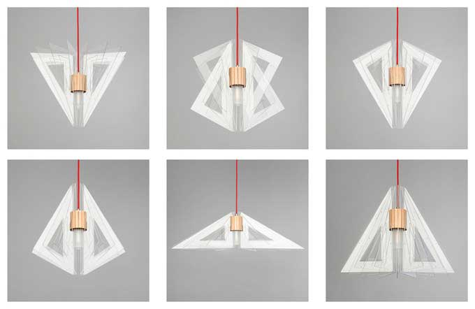 Luxya: An easily modifiable ceiling lamp