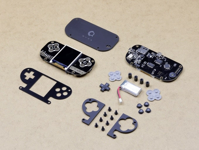 PYXA: DIY game console kit