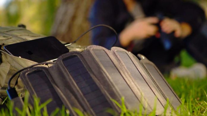 SolarCru: fold-able solar charger