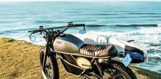 Fly Free Smart: Retro Style Electric Motorcycle