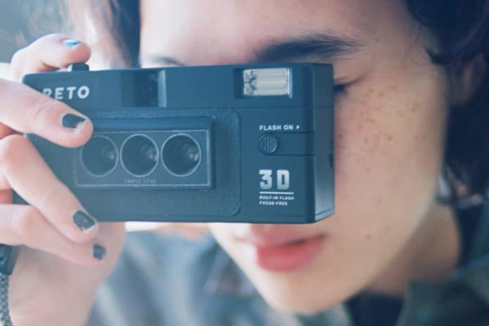 Wiggle The Moment : 3D Film Camera by RETO3D