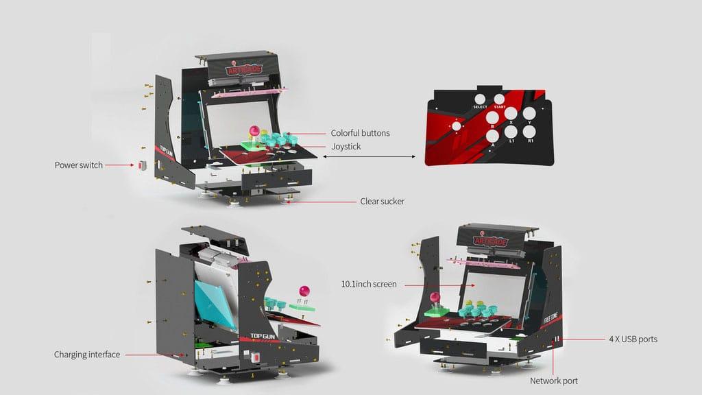 Arcade-Pi: Construction