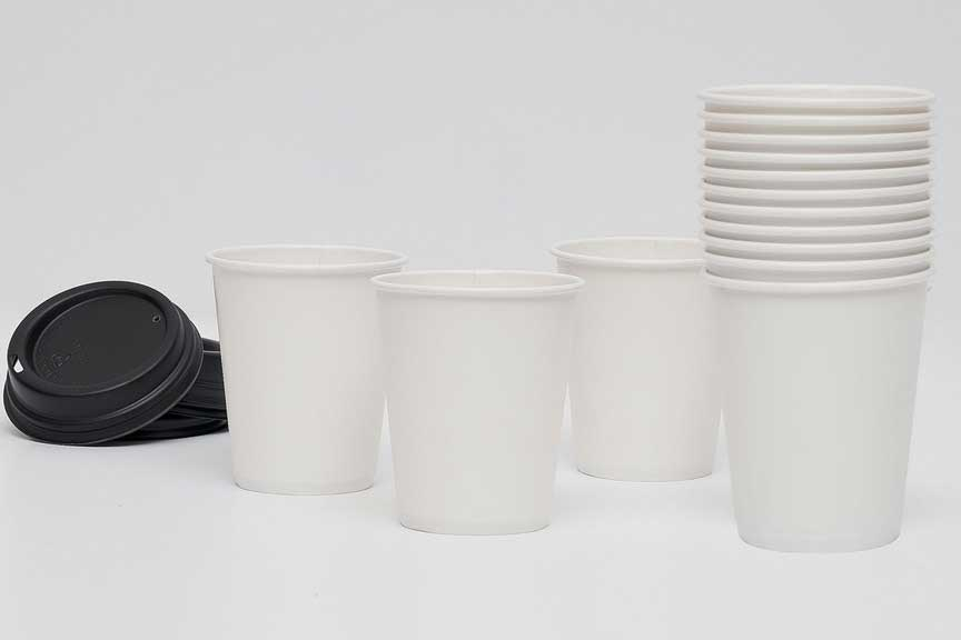 Tree-free calcium paper disposable cups