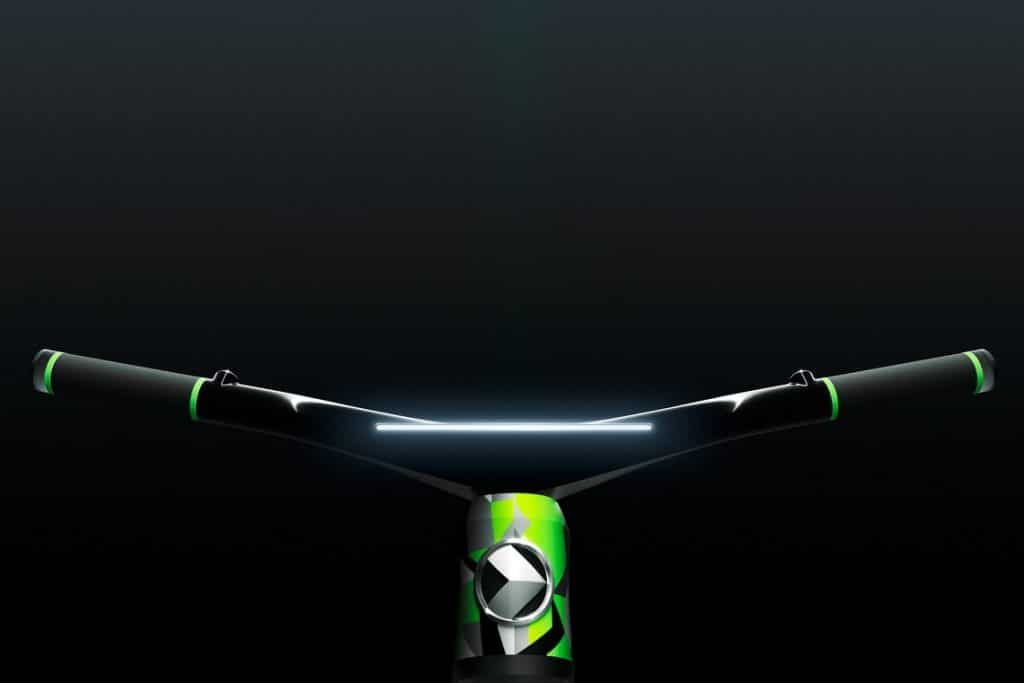 ŠKODA KLEMENT: Handlebar with LED