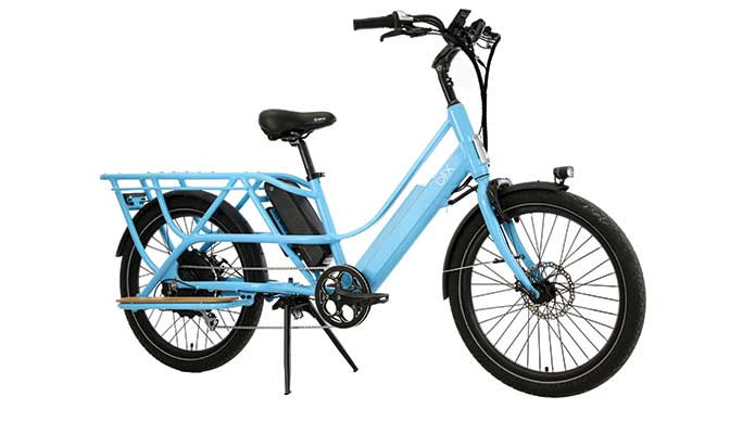 PACKA: Most affordable, full-feature cargo e-Bike