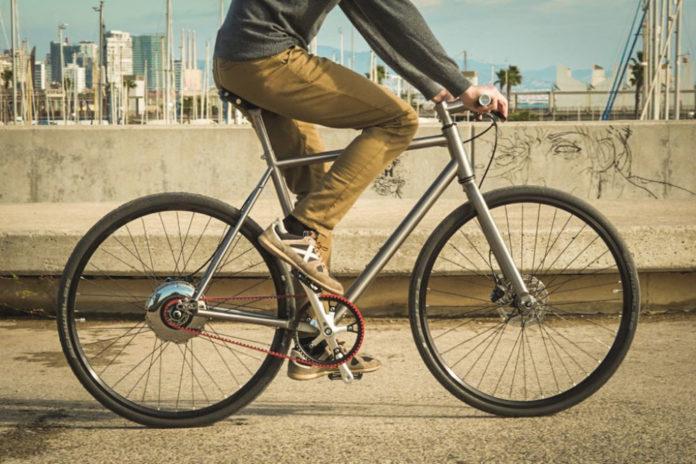 NUA Electrica- Titanium frame e-bike