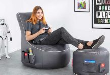 Gamewarez Granite Hurricane: The first official gaming beanbag