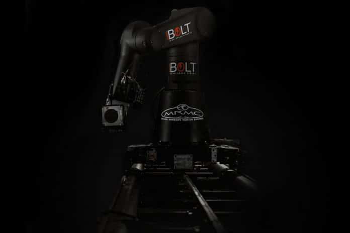 Bolt Jr.: A compact, lighter weight high-speed camera robot