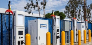 Penske opens high-speed charging station for electric delivery trucks