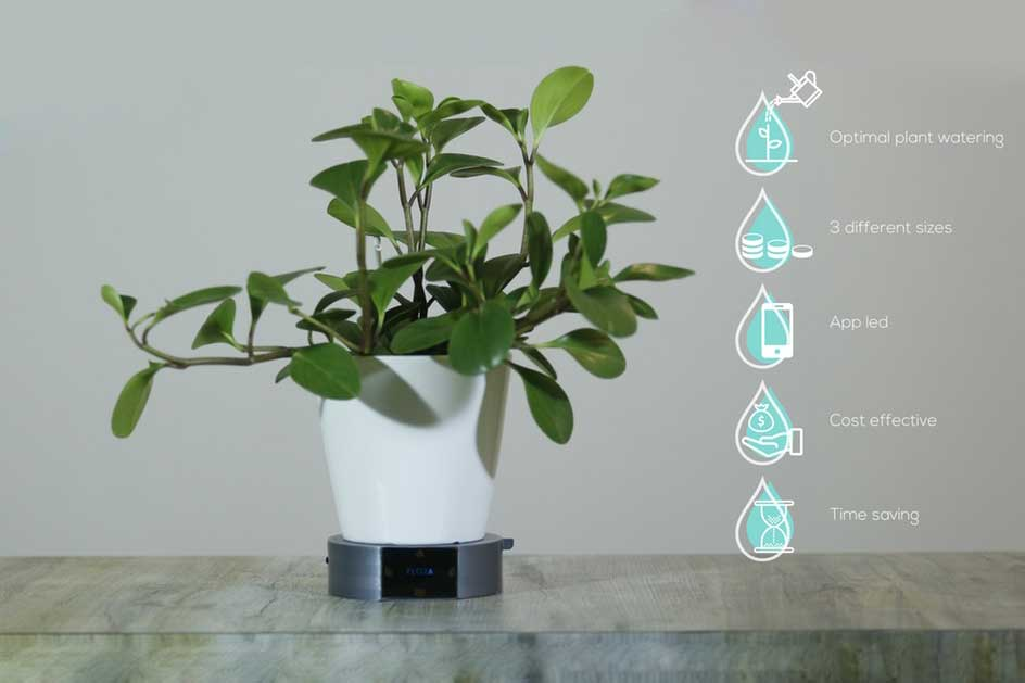 Flora: AI-enabled plant watering system