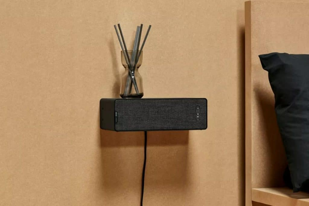 The Bookshelf Speaker can act as a little shelf in your home.