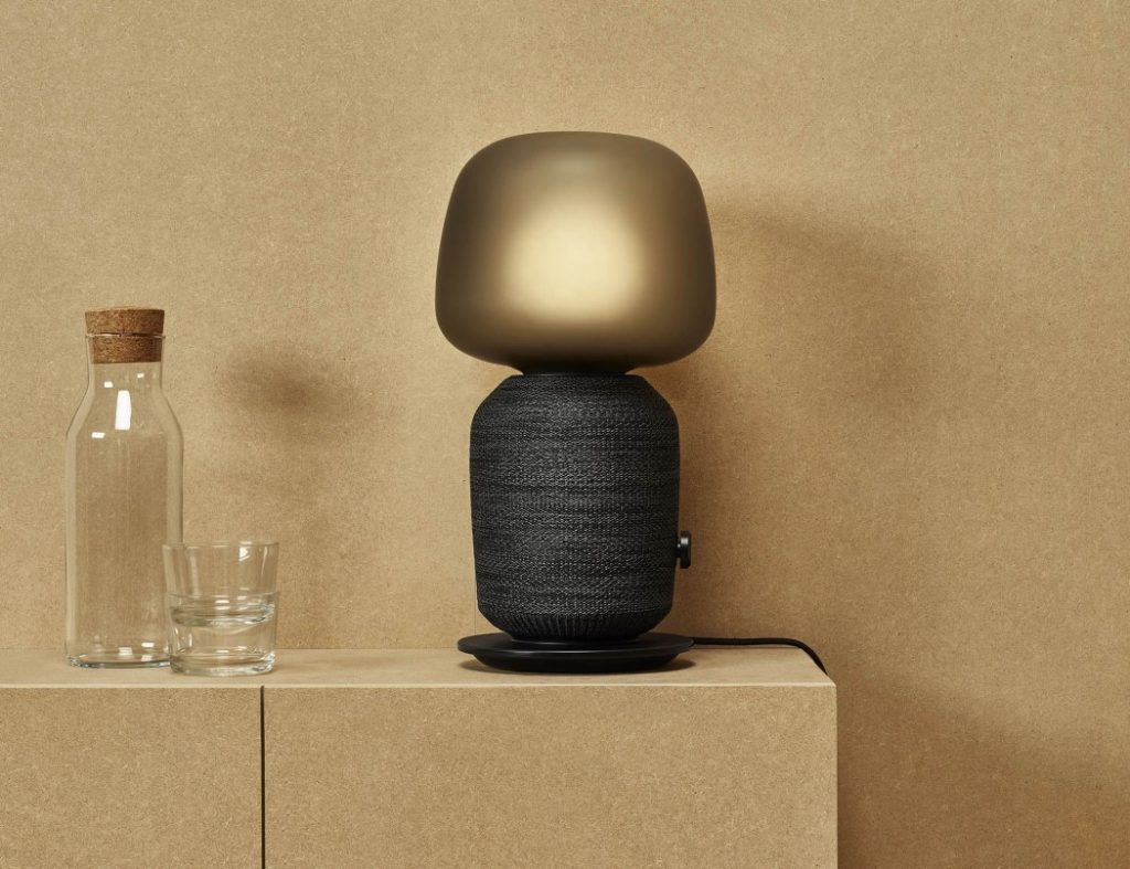 The SYMFONISK table lamp speaker
