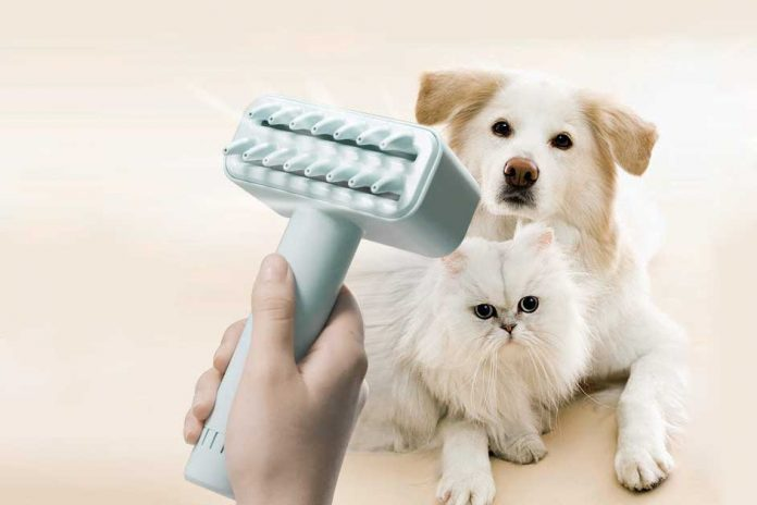Kcomb: First Electric Effective Comb For Pets!