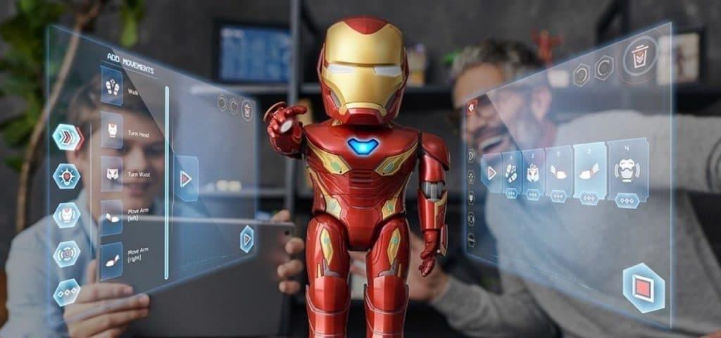 UBTECH's Iron Man MK50 Robot