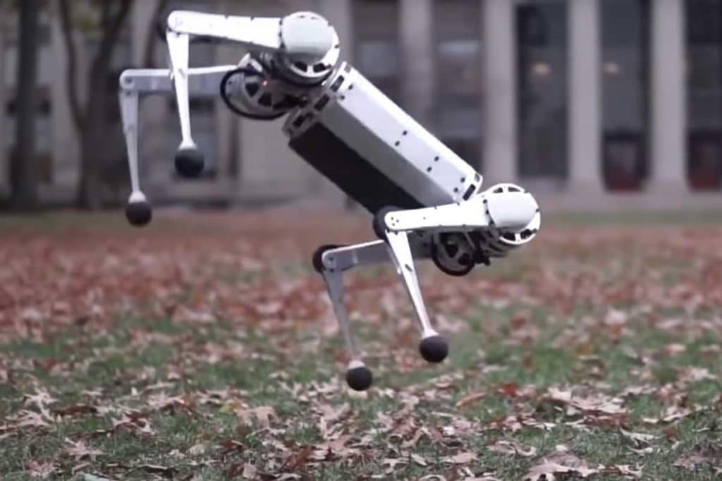 MIT's new Mini Cheetah robot can perform a 360-degree backflip