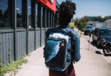 Mobius Backpack by Tentree is made of Algae and plastic bottles