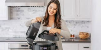Ninja Foodi all-in-one pressure cooker, air fryer, and steamer