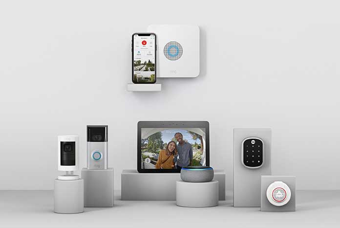 The Ring Base Station lets you group together Ring Alarm components and Alexa-enabled devices