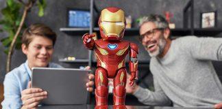 The Iron Man MK50 Robot