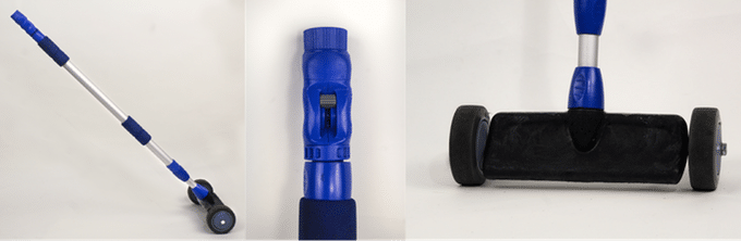 Uni-Glider: A portable undercarriage washer for vehicles