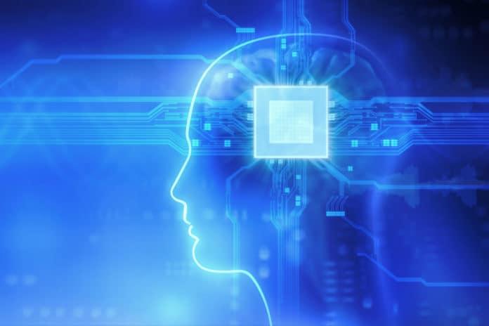 Brain chip concept