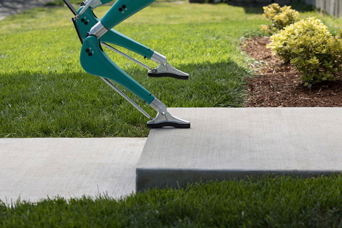 Digit can even walk everywhere humans can such as stairs and uneven terrain.